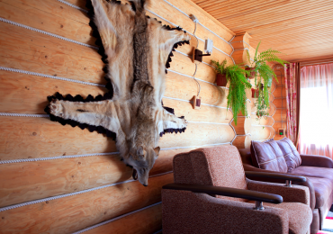 Дом охотника - веранда.
